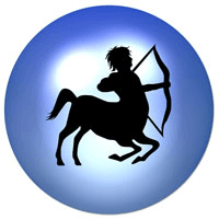 Sagittarius astrological sign freeastrology123 Sagittarius lucky color