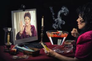 local psychic mirror