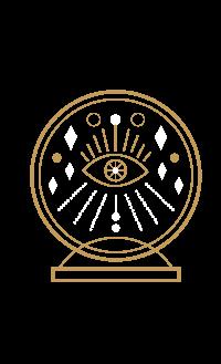 eye in crystal